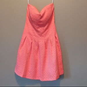 Guess Los Angeles Strapless dress Size 10 Zip Back